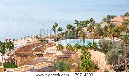 Kempinski Spa Resort Hotel And Dead Sea In Winter
