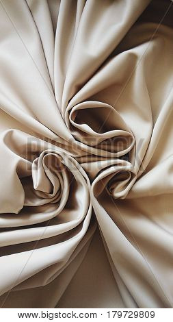 Satin fabric,  beige satin,  beautiful textile, Processed with VSCO with 4 preset
