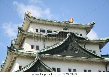 an ancient Nagoya castle (Nagoya Jyo) Aichi poster