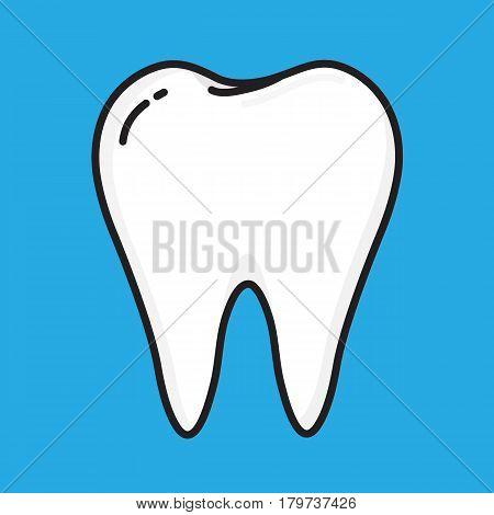 Teeth vector cartoon design . design for dental.