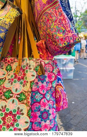Fashion Souvenir Fabric Bag In Market