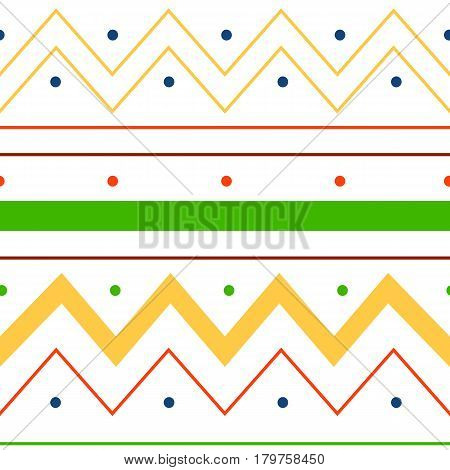 Abstract vector lines background seamless pattern ecoration design