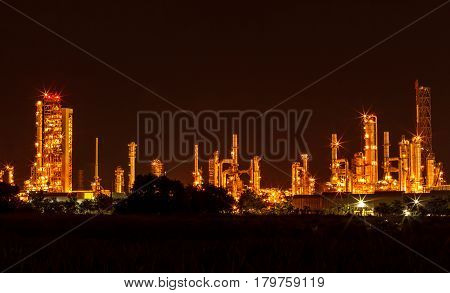 The Photo powerhouse by night dark beautiful.