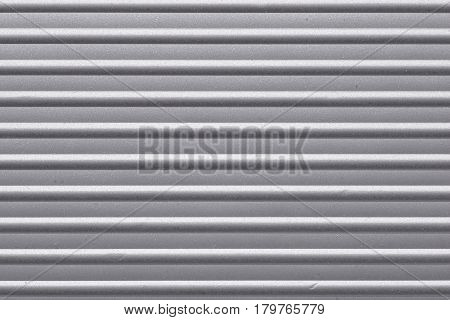 highly detailed corrugated metallic surface horizontal orientation
