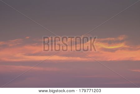 Beautiful tropical sunset beach silhouette over the sea