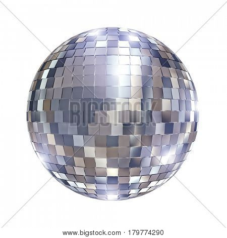 disco mirror ball 3d rendering image