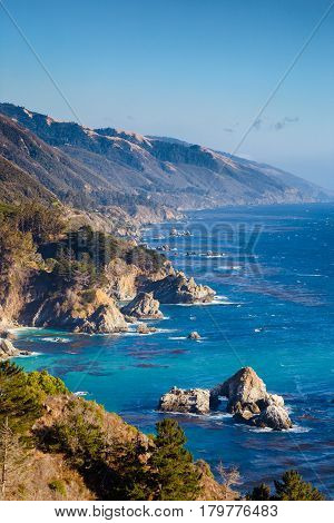 Big Sur, California Central Coast, Usa