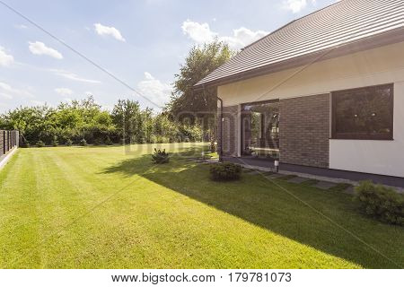 House With Big Garden