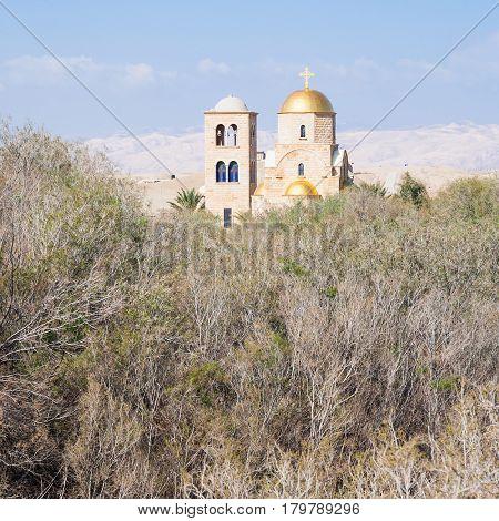 Greek Orthodox Church In Wadi Al Kharrar Area