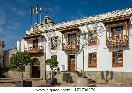Iglesia Parroquial de San Marcos in Icod de los Vinos, Tenerife island, Canarias, Spain.