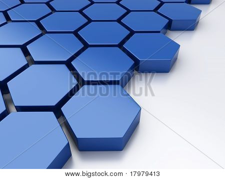 Geometrical Metallic Background