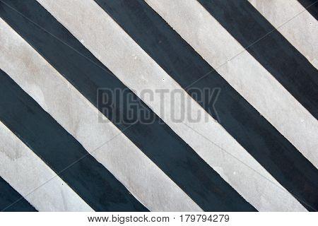 black and white big Striped background. photo