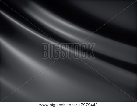 Black Satin Background