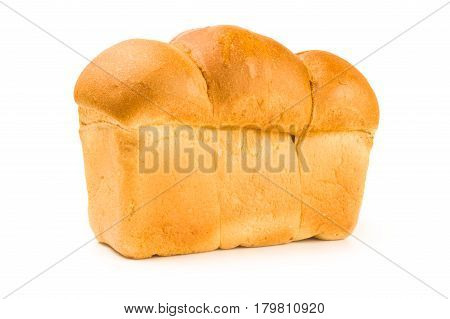 Baked goods isolated on a white background cutout