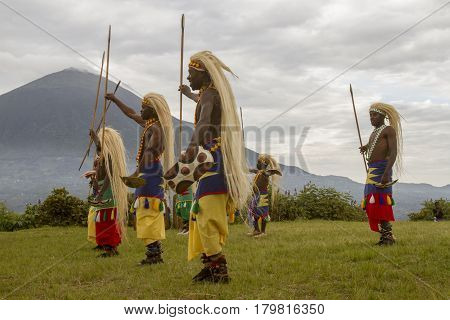 Rwanda Native Dance Troop, Virunga, Africa