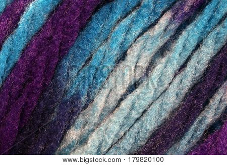 Background Of Many String Of Pure Wool