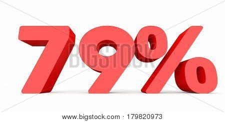 Seventy Nine Percent Off. Discount 79 %.