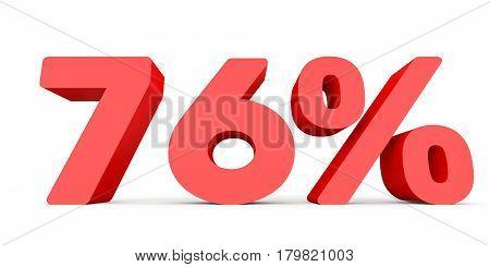 Seventy Six Percent Off. Discount 76 %.