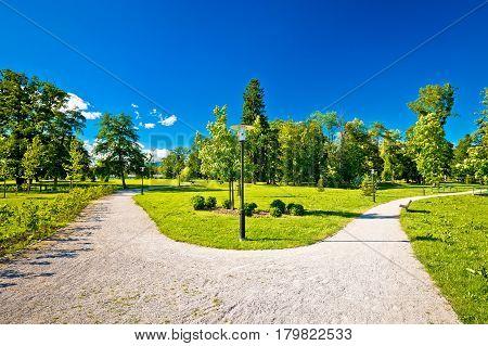 Town Of Jastrebarsko Park View