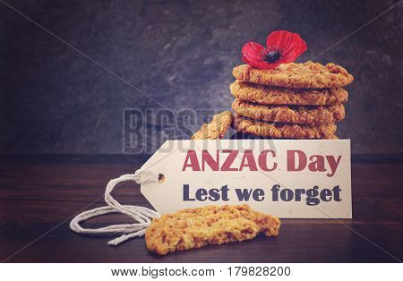 Australian Anzac Day Biscuits