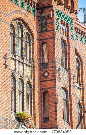 city hall of Torun Rynek Staromiejski Kuyavia-Pomerania Poland