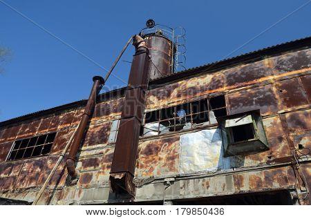 Industrial decay.Kiev