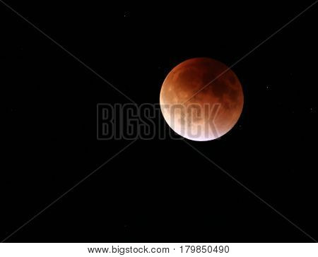 Total Lunar Eclipse of a Blood moon on 9,27,2015