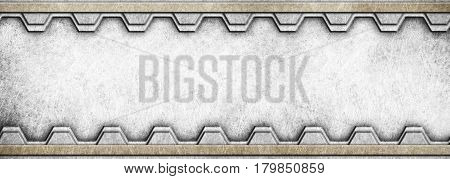 Metal Background For Industrial And Technology Design, Illustration, 3D