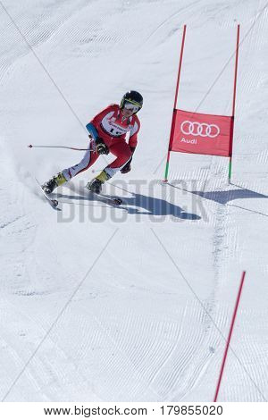 Jose Soares During The Ski National Championships