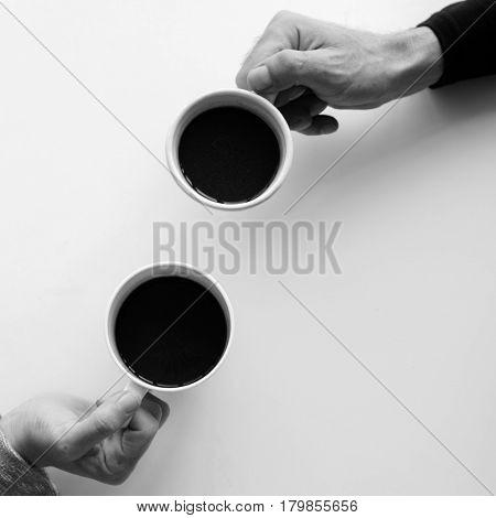 Coffee Mug Hands People Chill