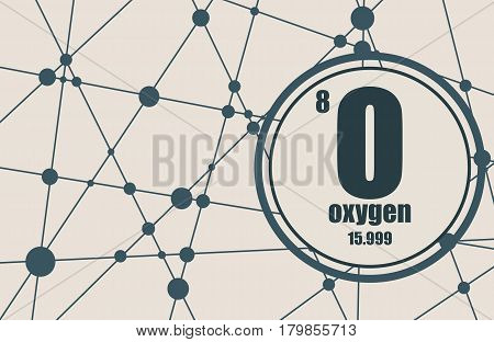 Oxygen Chemical Vector Photo Free Trial Bigstock