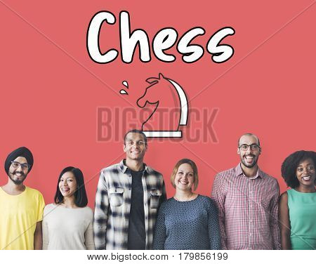 Chess Logic Game Concept
