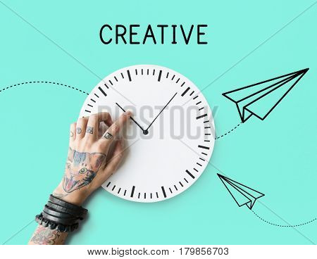 Creative Design Paper Plane Icon