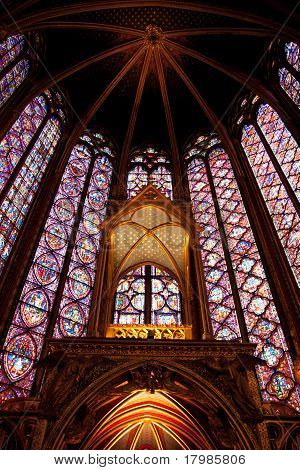 front of Saint Chapelle