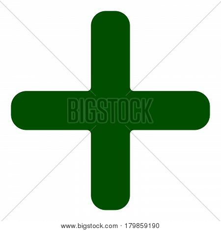 Plus, Cross Icon, Symbol For Healthcare, First Aid Concepts