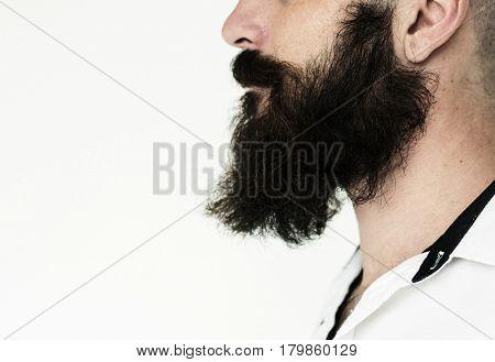 Mustache beard style men caucasian