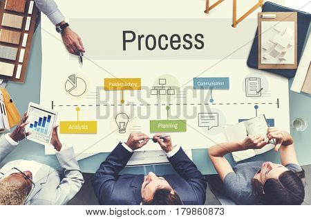 Process strategy planning analysis business