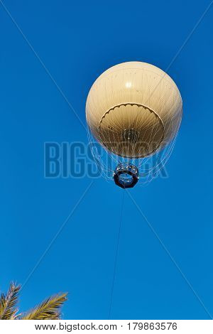 Aerostat Flying In The Air