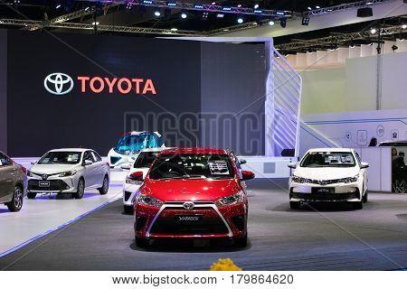 Bangkok International Motor Show 2017 BANGKOKTHAILAND 29 March 2017 - 9 April 2017