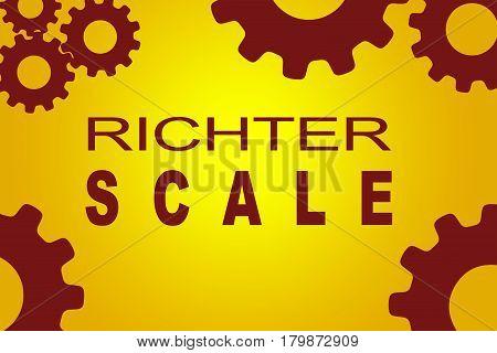 Richter Scale Concept