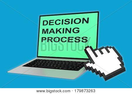 Decision Making Process Concept