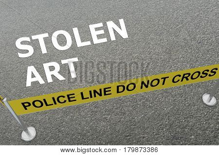 Stolen Art Concept