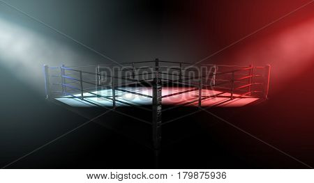 Boxing Ring Opposing Corners