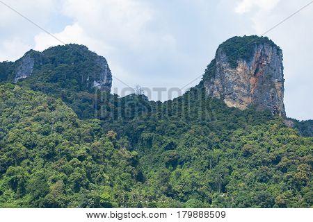 Beatiful Green Rocks
