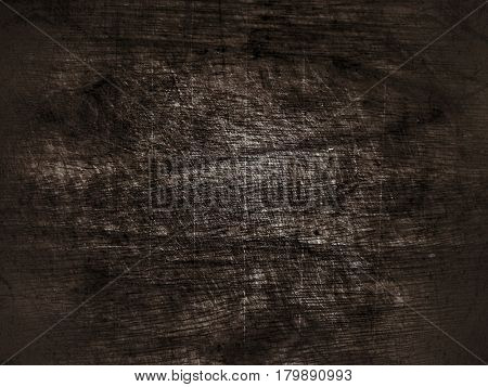 Grunge old abstract ebony background with film grain, artifacts and dirt
