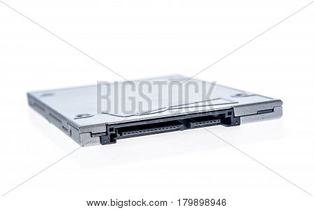 Solid State Drive Ssd Isolated On White Background.