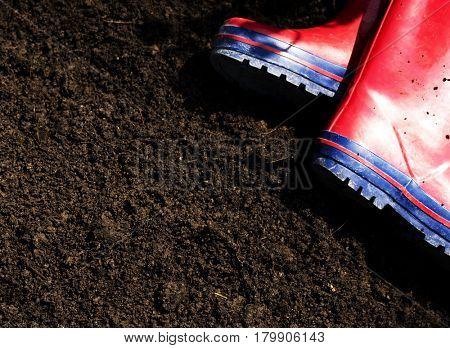 Rubber boot gardening farming waterproof