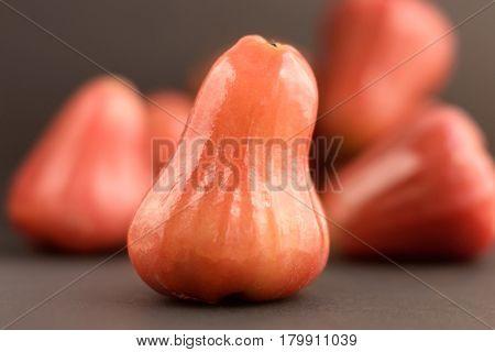 Wax Apple Or Bell Fruit