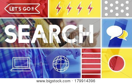 Search Find Information Data Concept