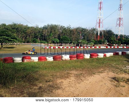 kart track competition adrenalin circuit leisure  motor